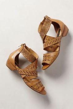 Abbey Lasercut Sandals