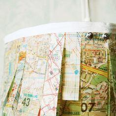 City Map Lamp