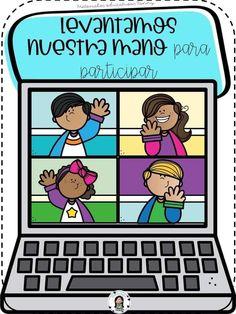 Online Classroom, Classroom Rules, Childhood Education, Kids Education, School Border, Go Math, Schedule Cards, School Images, Grammar Book