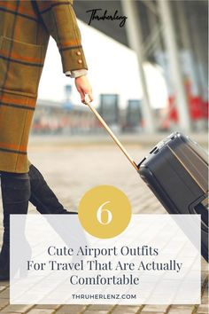 The next time you head to the airport, make sure your outfit is on point! I have 6 airport outfit ideas that are sure to turn heads! Yes, you can be cute and comfortable while you travel, it's not hard at all! Read my post about travel outfits for women and business women that will have you ready for your next trip!