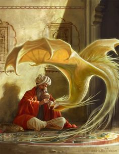 The Dragon Charmer by artist Shreya Shetty. | Cinema Gorgeous