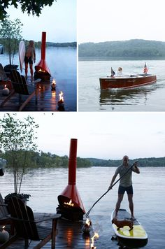 someday i will have a lake house that will incorporate this setup. someday.