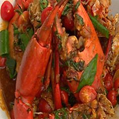 Try this Chilli Crab recipe by Chef Peter Evans. This recipe is from the show Short Orders.