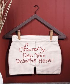 This 'Drop Your Drawers' Wall Sign by Ohio Wholesale, Inc. is perfect! #zulilyfinds