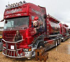the winner of Nordic Trophy 2010 as the best custom truck