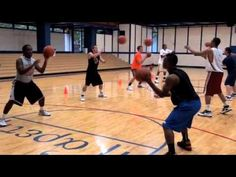 Pure Sweat Basketball Team Workout for youth
