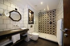 Spectacular Feature Wall Tiles At Hotel Indigo York By Matthews Mee From Our Ilrate