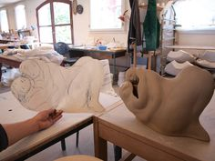 The process - Akio Takamori by Guldagergaard - ICRC, via Flickr