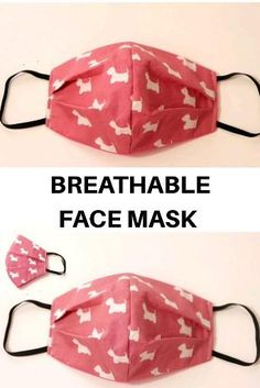 Small Sewing Projects, Sewing Hacks, Sewing Tutorials, Sewing Crafts, Diy Projects, Dress Tutorials, Easy Face Masks, Diy Face Mask, Homemade Face Masks