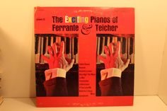 The Exciting Pianos of Ferrante & Teicher LP Record Pickwick
