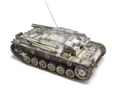 Stug III Ausf. B, 1/35 Tamiya kit, by Michael Rinaldi, more pics: http://www.network54.com/Forum/110741/message/1354312757/Stug+III+Ausf.+B