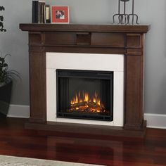 Real Flame Porter Electric Fireplace & Reviews | Wayfair