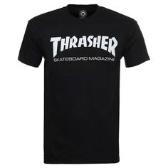 340f68724d9d23 Thrasher Skate Mag Short Sleeve T-Shirt - Black - Medium Thrasher Skate