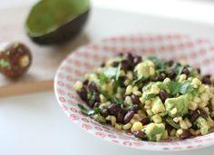 Summer Salads: Sauteed Corn and Black Bean Salad