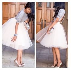 • listing for Tawana • White tulle dress XL. Shipment coming this week Dresses