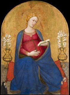 Antonio Veneziano?  - Madonna del Parto - Montefiesole (Pontassieve, Italia) - Pieve di San Lorenzo