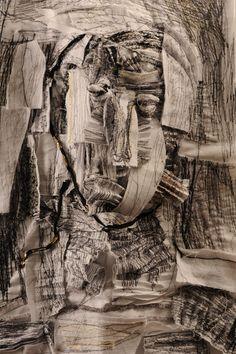 Head detail 2008<br />                 60x43cm