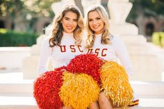 University Of Los Angeles, University Of Southern California, Cheerleading, Songs, Sport, Girls, Little Girls, Deporte, Daughters