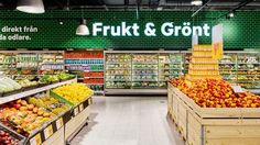 New brand & store concept for food retailer City Gross, by BLINK