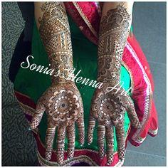 Full traditional Bridal henna design  By Sonia's Henna Art   Simple bridal henna design  Traditional design of Mehndi for desi brides  Dulhan design  Dulhan Mehndi   Toronto based Artist Henna Artist in Toronto  Www.soniashenna.Com