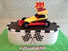 Brisca formula 1 stock car cake