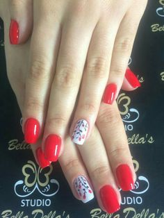 color tip nails Cute Nails, Pretty Nails, Finger, Colour Tip Nails, Flower Nails, Nail Inspo, Manicure And Pedicure, Nail Tips, Girly Things