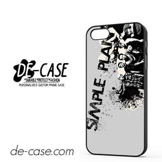 Simple Plan Crews Art DEAL-9614 Apple Phonecase Cover For Iphone SE Case