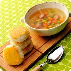 Maggi スープご飯(焼きチーズおにぎり&コンソメスープ添え) (ネスレ日本 マギー)