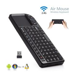 2.4G Wireless Mini Keyboard Mouse Touchpad For Android TV Box Laptop Tablets PC - http://electronics.goshoppins.com/keyboards-mice-pointing-devices/2-4g-wireless-mini-keyboard-mouse-touchpad-for-android-tv-box-laptop-tablets-pc/