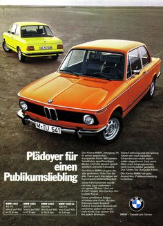 German print ads of cars we know and love « . . .