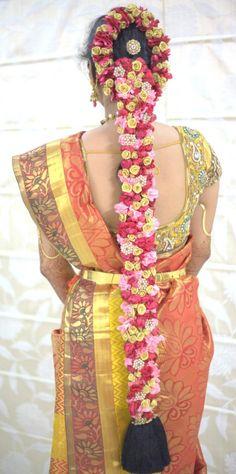Ornate bridal hair