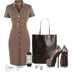 Shirtdress: Clean Lines - Polyvore