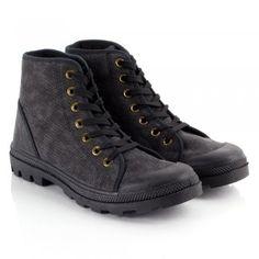 Jack Jones Black JJ Soho Men's Lace Up Boot