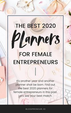 It's another year and another planner shall be born. Find out the best 2020 planners for female entrepreneurs in this post. Let's see your best match. Simplified Planner, Blog Planner, Life Planner, Book Binding Machine, Day Designer Planner, Create Your Own Planner, Book Binder, Best Planners, We R Memory Keepers