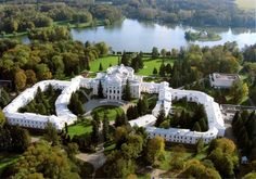 the palace of the prince Baryatinskiy is built in 1817.Kursk area