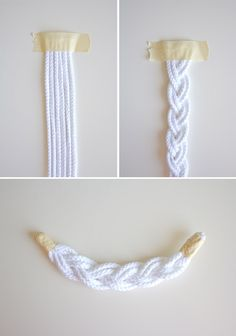 DIY Braided Rope Necklace | Lovely Indeed