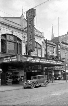 """Fox Crotona Theatre, 453 East Tremont Avenue -- Bronx, NY, August 3, 1929."""