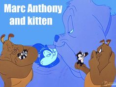Vintage Looney Tunes - Still the best  -  Love Pussyfoot & Marc Anthony