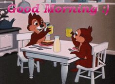.Good Morning