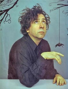 Tim Burton by ines
