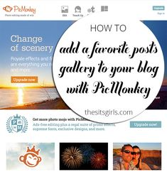 Learn how to create a favorite posts image gallery in PicMonkey and then turn it into an image map. No more worrying about a plugin failing or not pulling the posts you want to highlight in your sidebar. Image Map, Marketing Techniques, Blog Planner, Blog Design, Blogging For Beginners, Social Media Tips, Blog Tips, Writing Tips, Internet Marketing