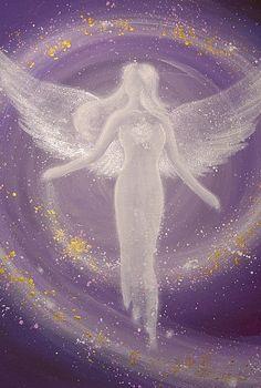 Limited angel art photo universal life energy by HenriettesART