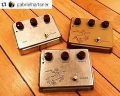 """If I came home with these I'd probably have to say something like """"Oh those? They were only $100 for all 3"""" to avoid trouble ;-) What would you say? ;-) Repost @gabrielhartsner:  There is a new Klon in town! #gottacatchthemall #geartalk #kloncentaur"""