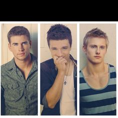Hunger Games boys... :)