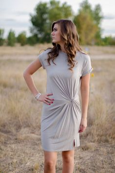 Tied up Dress  #FallFashion #FallTrends #SuburbanGirlBoutique #Trends #Clothes #Dress