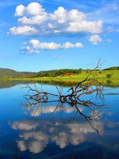 Mankwe Dam, Pilanesberg National Park. South Africa