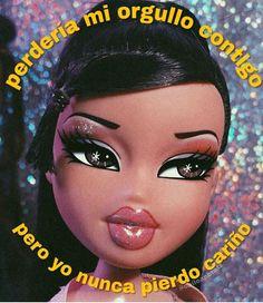 Bad Girl Aesthetic, Aesthetic Vintage, Bratz Doll Outfits, Brat Doll, Funny Spanish Memes, Bitch Quotes, Motivational Phrases, Bracelet Crafts, Relationship Memes