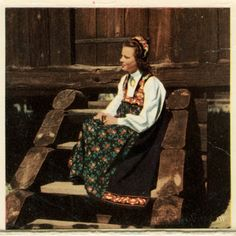 Latticed Window: Norwegian National Costumes, the Bunad Female Models, Norway, Window, Costumes, Collection, Women, Girl Models, Dress Up Clothes, Windows