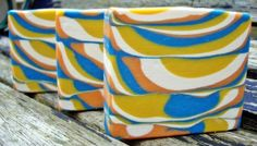 Stunning cold process soap!