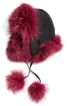 a0188d1565b Jocelyn Genuine Fox Fur Trooper Hat available at  Nordstrom Trooper Hat